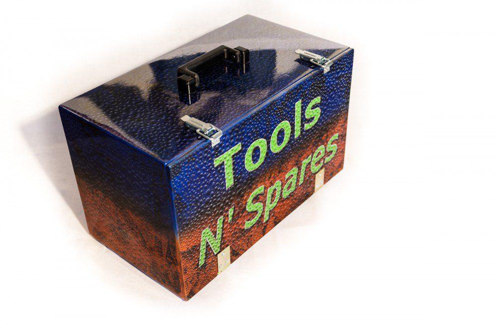 "Airbrush Toolbox ""Tools n' spares"""