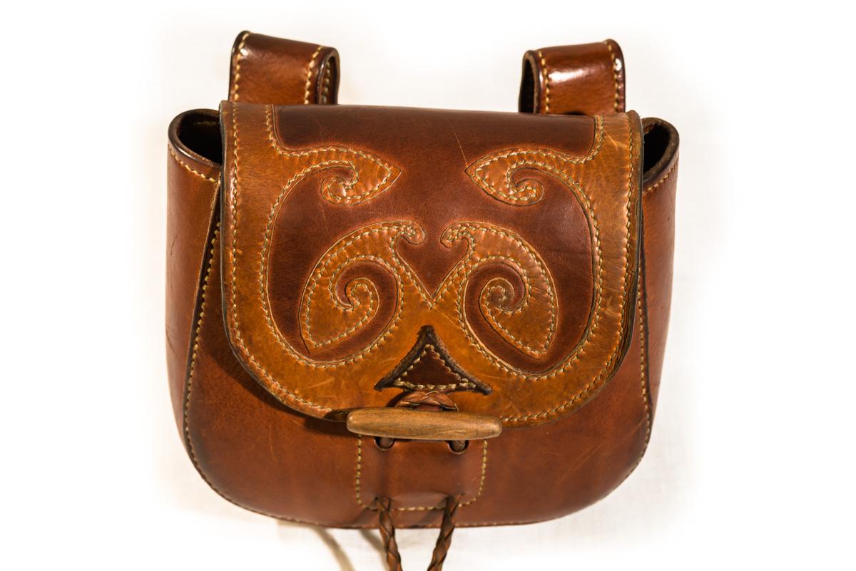 Gurttasche aus Leder