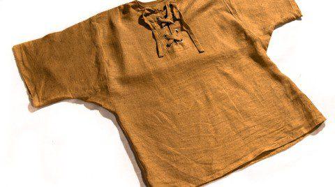 Mittelalterliches Leinenhemd kurzarm