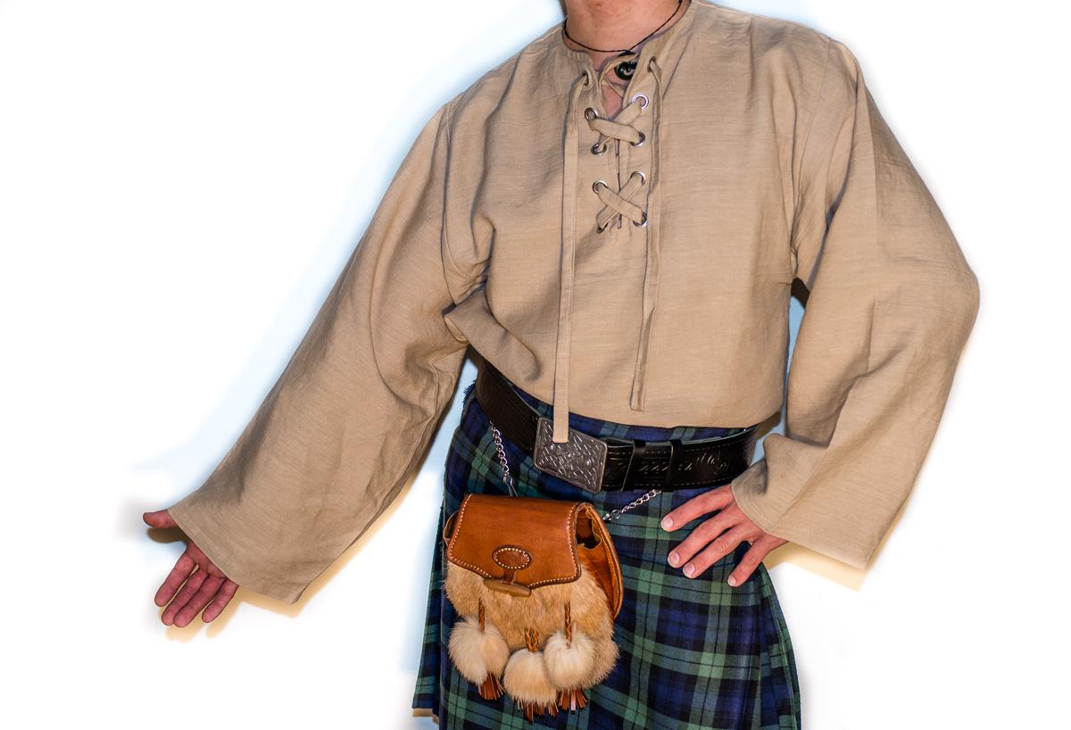 Schottisches Mittelalter-Kostüm