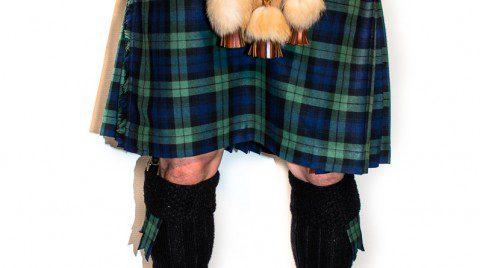 Schottisches Mittelalter-Kostüm (Schottenrock)